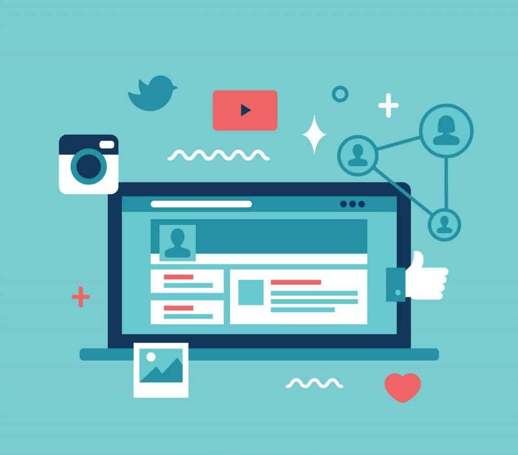 réseaux sociaux-créatio-comptes-sociaux