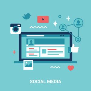 Création comptes sociaux