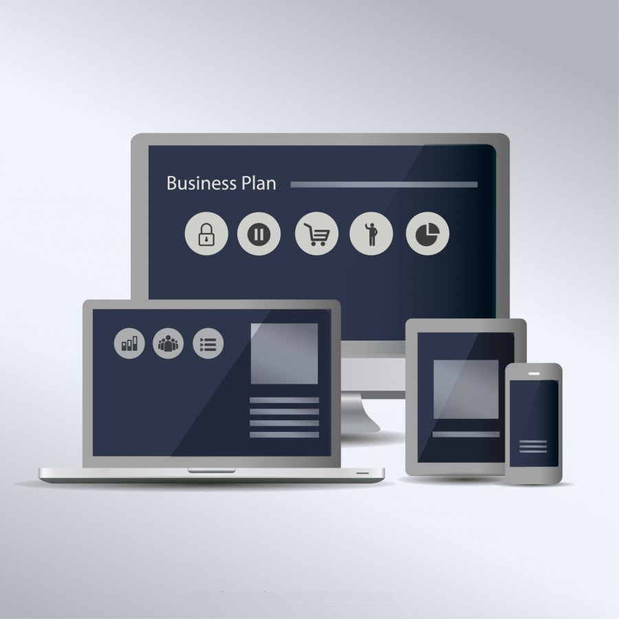 Ergonomie site web : illustration contenus responsive