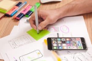conception d'interface web et mobile Wedig
