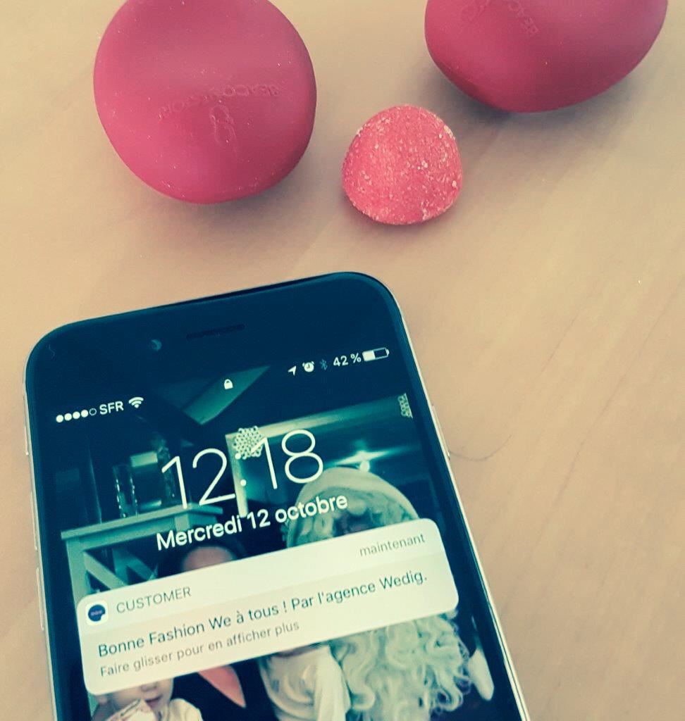 Wedig : beacons et notifications mobiles