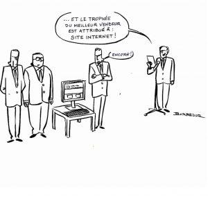 le webmarketing et le site web comme moyen de prospection