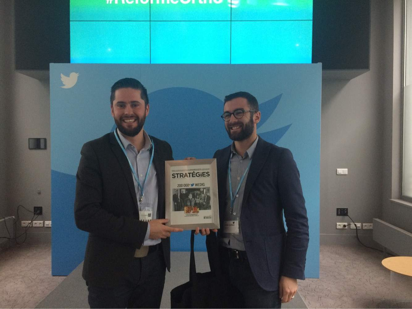 L'agence digitale Wedig chez Twitter France
