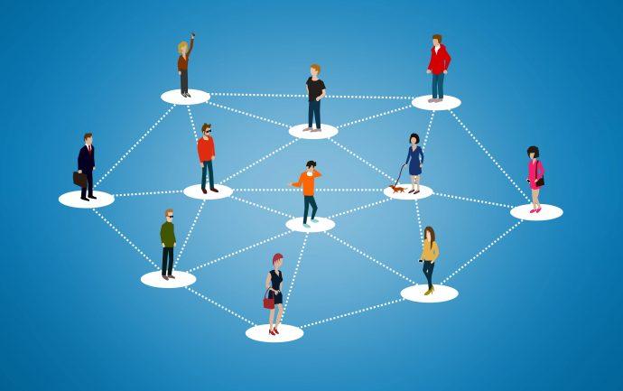 agence social media-réseau social